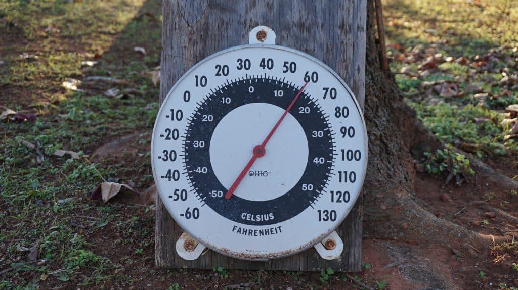 Temperature fridge